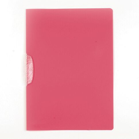 Durable Swingclip File 30 Sheet Pink