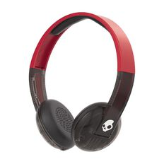 Skullcandy Uproar Wireless On Ear Headphones Red/Black