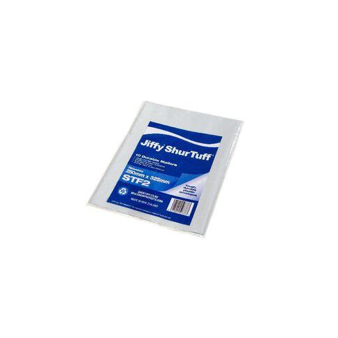 Jiffy Shurtuff Mailbag St2 250 x 325mm 10 Pack White