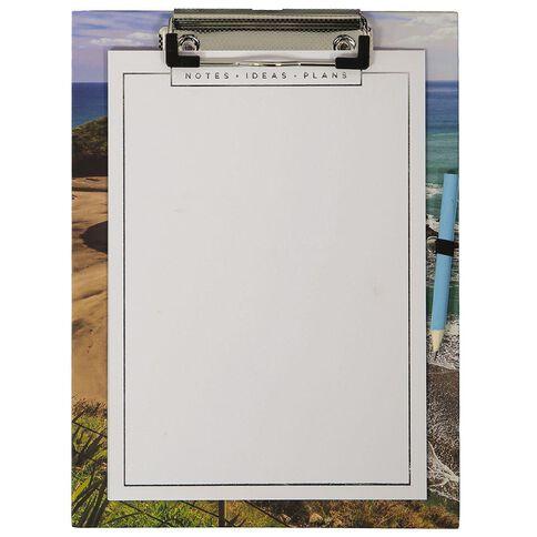 Banter Kiwiana Magnetic Clipboard Pad & Pencil A5