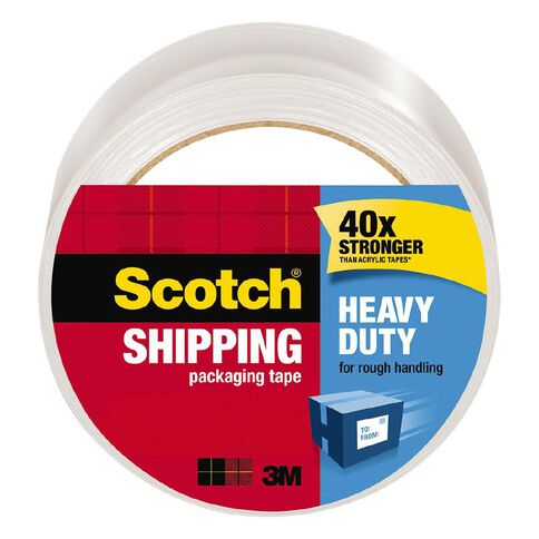 Scotch Packaging Tape Heavy Duty 48mm x 50m Clear