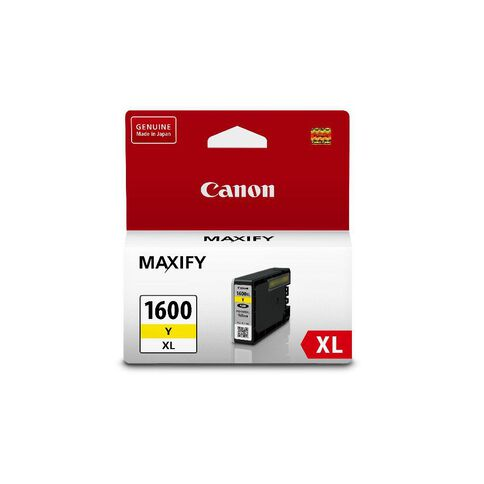 Canon Ink Cartridge PGI1600XL Yellow