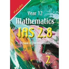 Nulake Year 12 Mathematics Ias 2.8 Questionaire