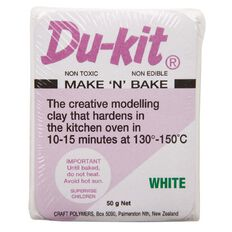 Du Kit Clay 50g White