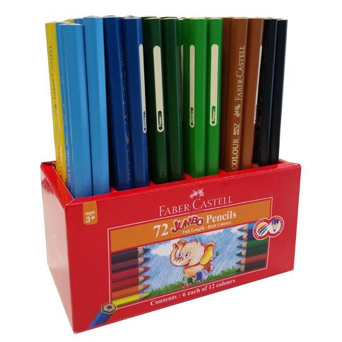 Faber-Castell Jumbo Pencil Caddie 72 Pack