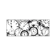 Kaisercraft Clear Stamps 50 x 130mm Texture Tic Toc