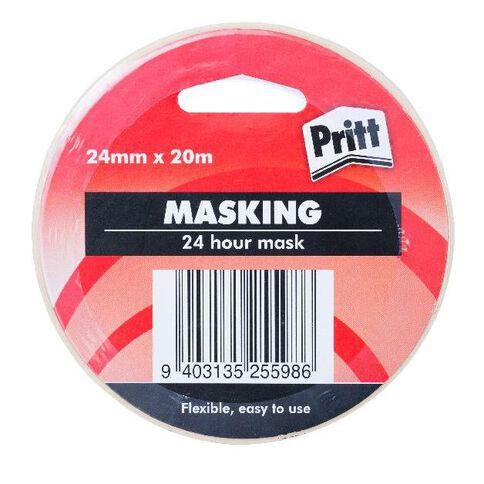 Pritt Masking Tape 24mm x 20m White