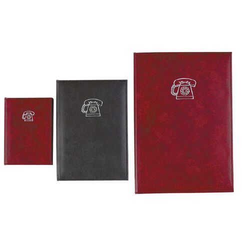 GBP Stationery Address Book Marble Black A5