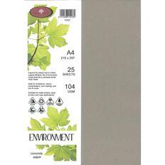 Enviro Paper 104gsm 25 Pack Concrete Grey A4