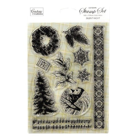 Couture Creations Let Everyday Be Christmas Stamp Set