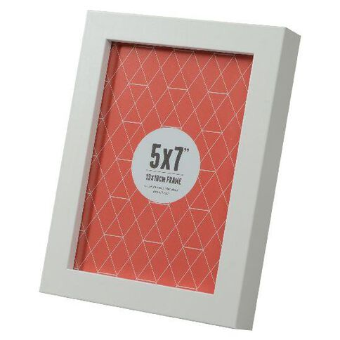 Promenade 5 x 7 Photo Frame White
