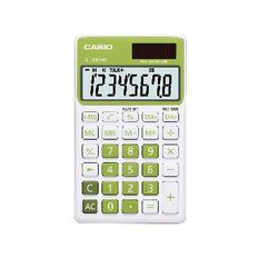 Handheld Calculator SL300NCGN Green