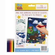 Little Hands Metallic Foil Colouring Activity Kit
