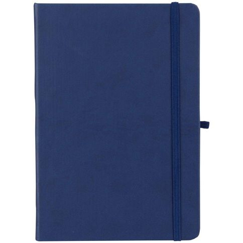 Paper Lane Journal PU Blue A4