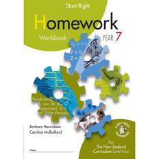 SR Year 7 Homework Workbook