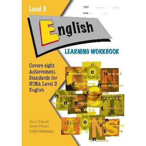 Ncea Year 13 English Learning Workbook