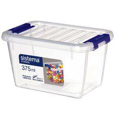 Sistema Storage Organiser 375ml Clear
