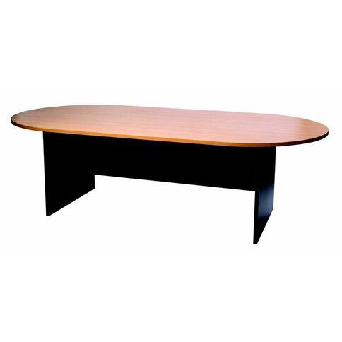 Firstline Boardroom Table Beech/Ironstone