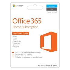 Microsoft Office 365 Home Activation Card