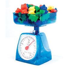 TFC Kitchen Scales Weights Blue