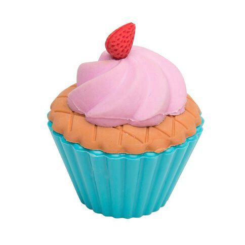 Kookie Cup Cake Sharpener With Eraser Pink Pink