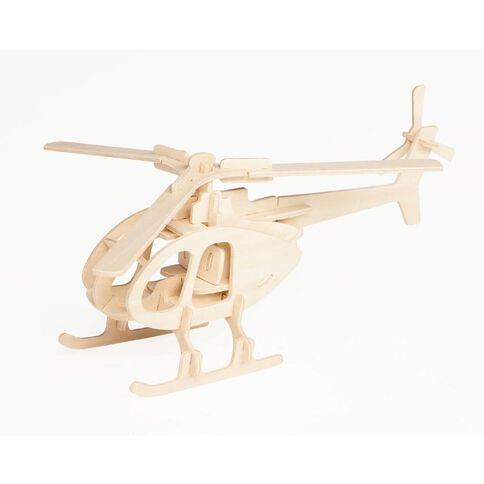 3D Vehicle Edition Wooden Puzzle