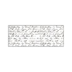 Kaisercraft Clear Stamps 50 x 130mm Texture Script Clear