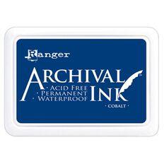 Ranger Stamp Pad Cobalt