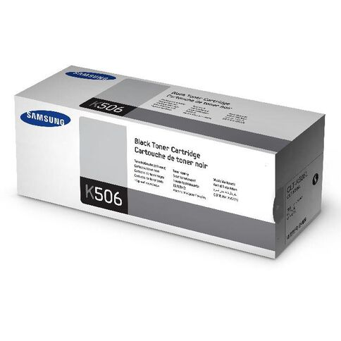 Samsung Toner Clt-K506L Black