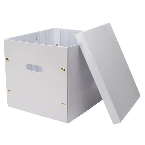 Uniti Diamond Storage Clip Box White