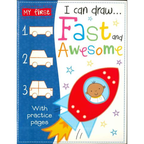 I Can Draw - Fast Vehicles