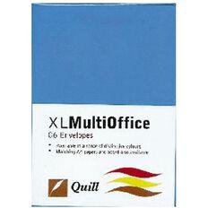 Quill Multioffice Envelopes C6 25 Pack Marine Blue