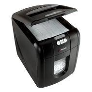 Rexel Shredder Auto+100 Autofeed Cross Cut Black