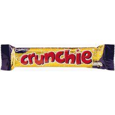Cadbury Crunchie Bar 50g Multi-Coloured