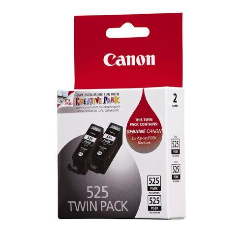Canon Ink Cartridge PGI525 2 Pack Black