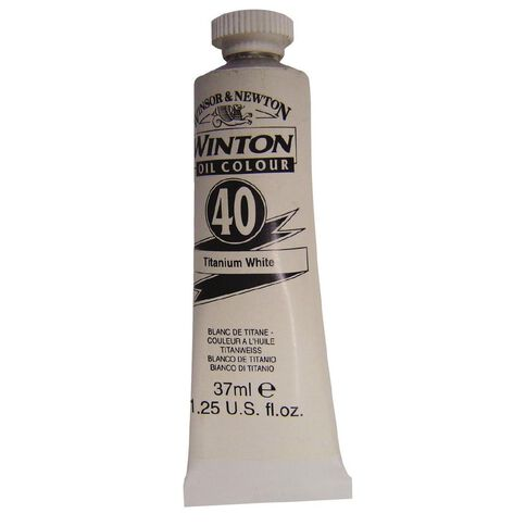 Winton Oil Paint 37ml Titanium White