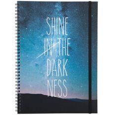 Banter Shine Spiral Notebook A4