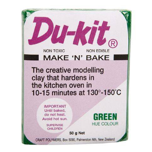 Du Kit Clay 50g Mid Green