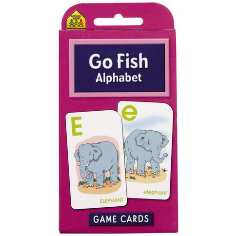 Flashcards Go Fish (4+) by Schoolzone