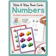 Building Blocks: Write And Wipe Flashcards Assorted Multi-Coloured