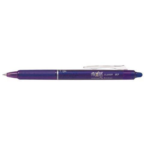 Pilot Frixion Rt Ball Pen Violet Loose Multi-Coloured