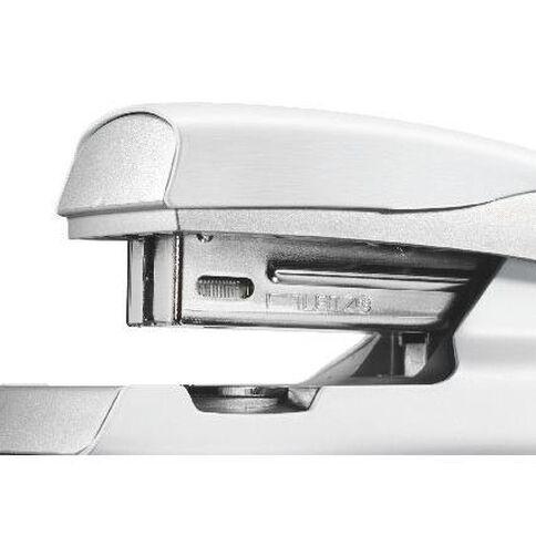 Leitz Metal Half Strip Stapler 30 Sheet White