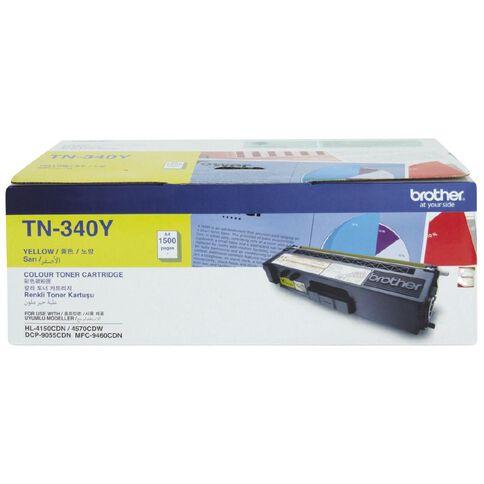 Brother Toner TN340 Yellow