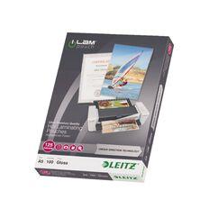 Leitz iLam Udt Lamination Pouches A5 125mic 100 Pieces Clear