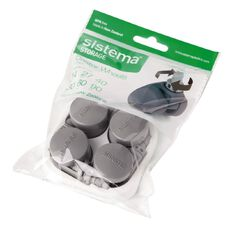 Sistema Castor Wheels 4 Pack Grey