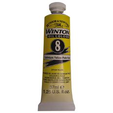 Winton Oil Paint 37ml Cadmium Pale Yellow