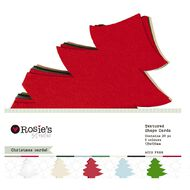 Rosie's Studio Festive Shaped Cards Assorted