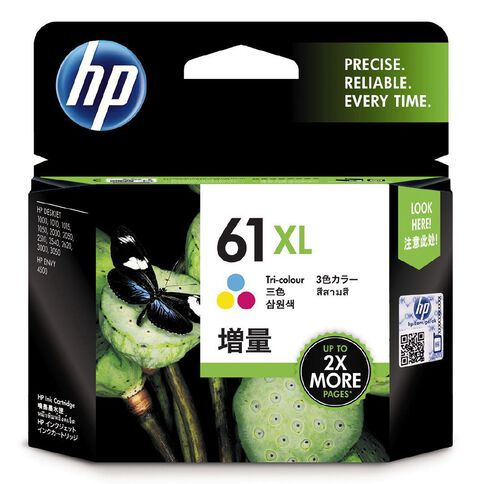 HP Ink Cartridge 61XL Multi-Coloured