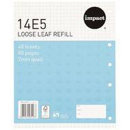 Pad Refill 14E5 7mm Quad 40 Leaf Blue