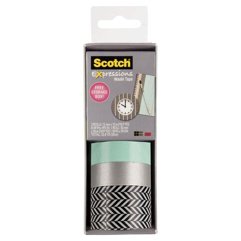 Scotch Washi Craft Tape Multipack Zig Zag